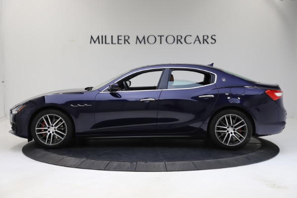 Used 2018 Maserati Ghibli S Q4 for sale $53,900 at Bugatti of Greenwich in Greenwich CT 06830 3