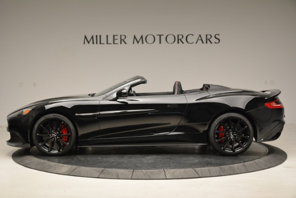 Used 2018 Aston Martin Vanquish S Convertible for sale Sold at Bugatti of Greenwich in Greenwich CT 06830 3