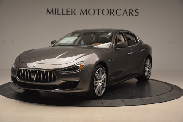 New 2018 Maserati Ghibli S Q4 GranLusso for sale Sold at Bugatti of Greenwich in Greenwich CT 06830 1