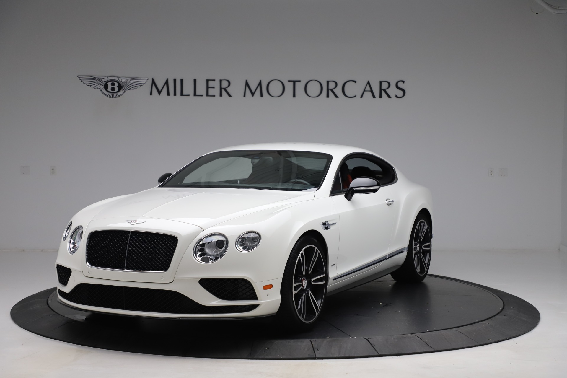 Used 2016 Bentley Continental GT V8 S for sale Sold at Bugatti of Greenwich in Greenwich CT 06830 1