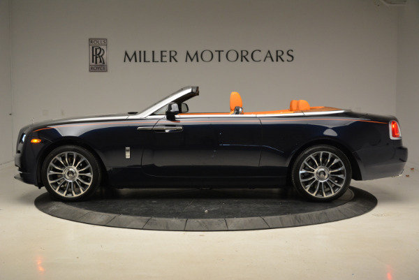 New 2018 Rolls-Royce Dawn for sale Sold at Bugatti of Greenwich in Greenwich CT 06830 3