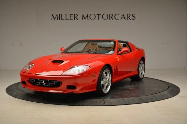 Used 2005 Ferrari Superamerica for sale Sold at Bugatti of Greenwich in Greenwich CT 06830 12