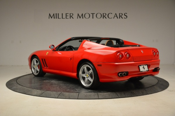 Used 2005 Ferrari Superamerica for sale Sold at Bugatti of Greenwich in Greenwich CT 06830 4