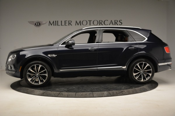 Used 2017 Bentley Bentayga W12 for sale Sold at Bugatti of Greenwich in Greenwich CT 06830 3
