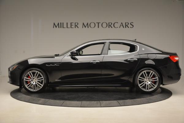 New 2018 Maserati Ghibli S Q4 GranLusso for sale Sold at Bugatti of Greenwich in Greenwich CT 06830 3