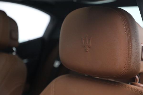 Used 2018 Maserati Ghibli S Q4 for sale $54,900 at Bugatti of Greenwich in Greenwich CT 06830 16