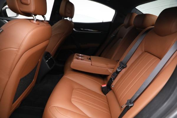 Used 2018 Maserati Ghibli S Q4 for sale $54,900 at Bugatti of Greenwich in Greenwich CT 06830 22