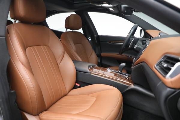 Used 2018 Maserati Ghibli S Q4 for sale $54,900 at Bugatti of Greenwich in Greenwich CT 06830 27