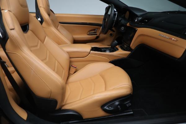New 2018 Maserati GranTurismo MC Convertible for sale Sold at Bugatti of Greenwich in Greenwich CT 06830 24