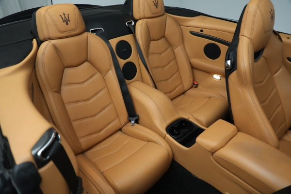 New 2018 Maserati GranTurismo MC Convertible for sale Sold at Bugatti of Greenwich in Greenwich CT 06830 26