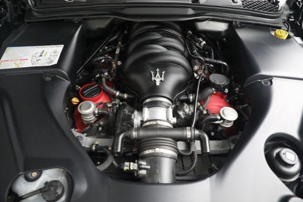 New 2018 Maserati GranTurismo MC Convertible for sale Sold at Bugatti of Greenwich in Greenwich CT 06830 27