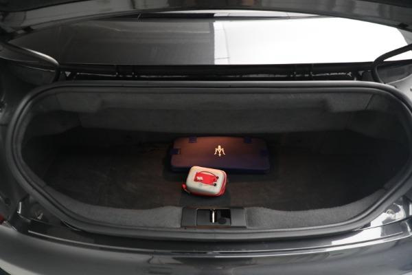 New 2018 Maserati GranTurismo MC Convertible for sale Sold at Bugatti of Greenwich in Greenwich CT 06830 28