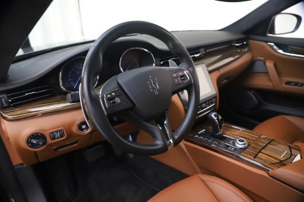Used 2018 Maserati Quattroporte S Q4 GranLusso for sale $69,900 at Bugatti of Greenwich in Greenwich CT 06830 16