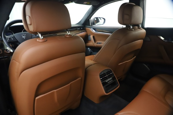 Used 2018 Maserati Quattroporte S Q4 GranLusso for sale $69,900 at Bugatti of Greenwich in Greenwich CT 06830 20