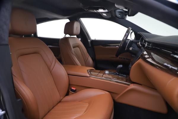 Used 2018 Maserati Quattroporte S Q4 GranLusso for sale $69,900 at Bugatti of Greenwich in Greenwich CT 06830 21
