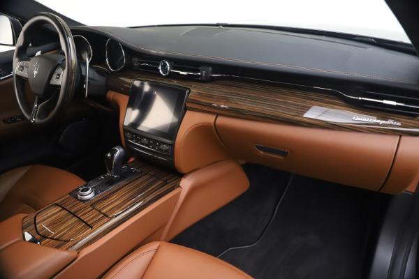 Used 2018 Maserati Quattroporte S Q4 GranLusso for sale $69,900 at Bugatti of Greenwich in Greenwich CT 06830 23