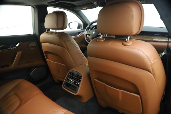 Used 2018 Maserati Quattroporte S Q4 GranLusso for sale $69,900 at Bugatti of Greenwich in Greenwich CT 06830 26