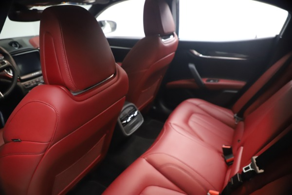 Used 2018 Maserati Ghibli S Q4 GranSport for sale Call for price at Bugatti of Greenwich in Greenwich CT 06830 18