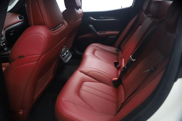 Used 2018 Maserati Ghibli S Q4 GranSport for sale Call for price at Bugatti of Greenwich in Greenwich CT 06830 19