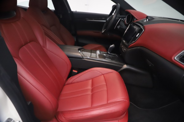 Used 2018 Maserati Ghibli S Q4 GranSport for sale Call for price at Bugatti of Greenwich in Greenwich CT 06830 23