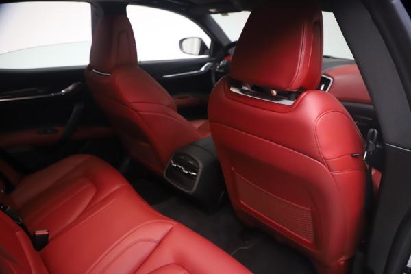 Used 2018 Maserati Ghibli S Q4 GranSport for sale Call for price at Bugatti of Greenwich in Greenwich CT 06830 25