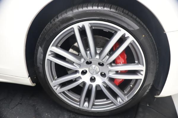 Used 2018 Maserati Ghibli S Q4 GranSport for sale Call for price at Bugatti of Greenwich in Greenwich CT 06830 28