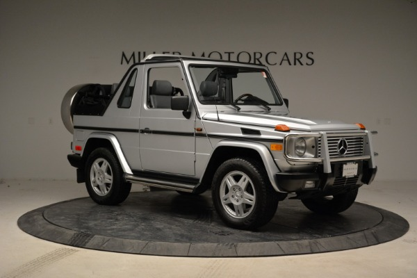 Used 1999 Mercedes Benz G500 Cabriolet for sale Sold at Bugatti of Greenwich in Greenwich CT 06830 10