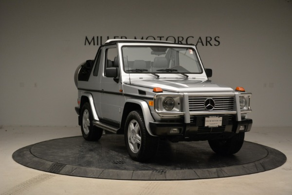 Used 1999 Mercedes Benz G500 Cabriolet for sale Sold at Bugatti of Greenwich in Greenwich CT 06830 11