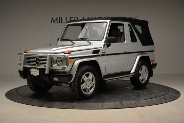 Used 1999 Mercedes Benz G500 Cabriolet for sale Sold at Bugatti of Greenwich in Greenwich CT 06830 13