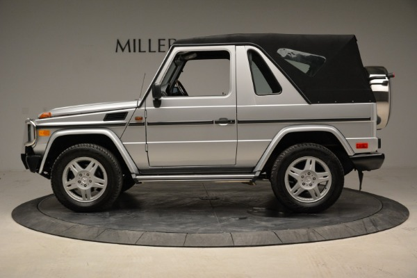 Used 1999 Mercedes Benz G500 Cabriolet for sale Sold at Bugatti of Greenwich in Greenwich CT 06830 14