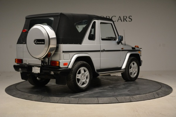 Used 1999 Mercedes Benz G500 Cabriolet for sale Sold at Bugatti of Greenwich in Greenwich CT 06830 17