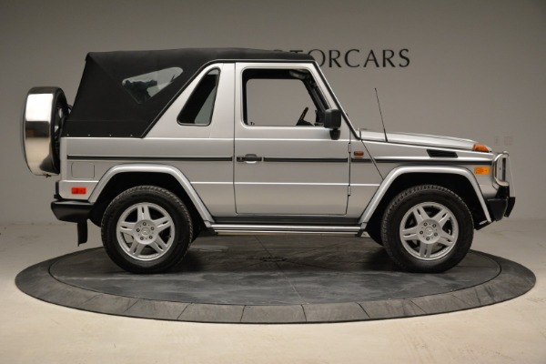 Used 1999 Mercedes Benz G500 Cabriolet for sale Sold at Bugatti of Greenwich in Greenwich CT 06830 18