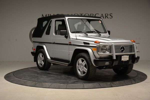 Used 1999 Mercedes Benz G500 Cabriolet for sale Sold at Bugatti of Greenwich in Greenwich CT 06830 19