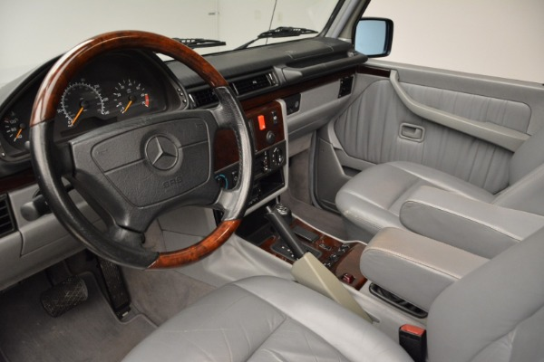 Used 1999 Mercedes Benz G500 Cabriolet for sale Sold at Bugatti of Greenwich in Greenwich CT 06830 22