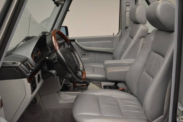 Used 1999 Mercedes Benz G500 Cabriolet for sale Sold at Bugatti of Greenwich in Greenwich CT 06830 23