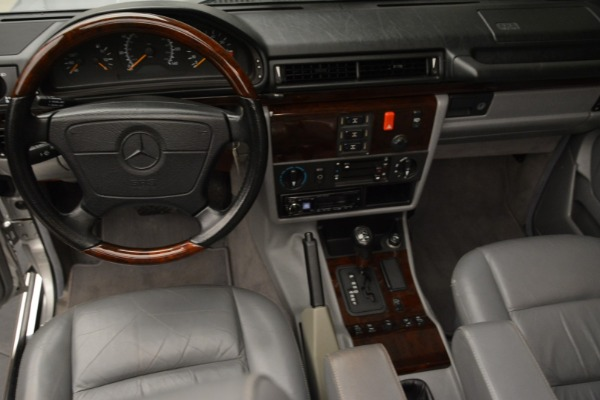 Used 1999 Mercedes Benz G500 Cabriolet for sale Sold at Bugatti of Greenwich in Greenwich CT 06830 25