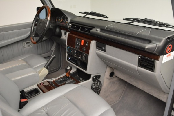 Used 1999 Mercedes Benz G500 Cabriolet for sale Sold at Bugatti of Greenwich in Greenwich CT 06830 26