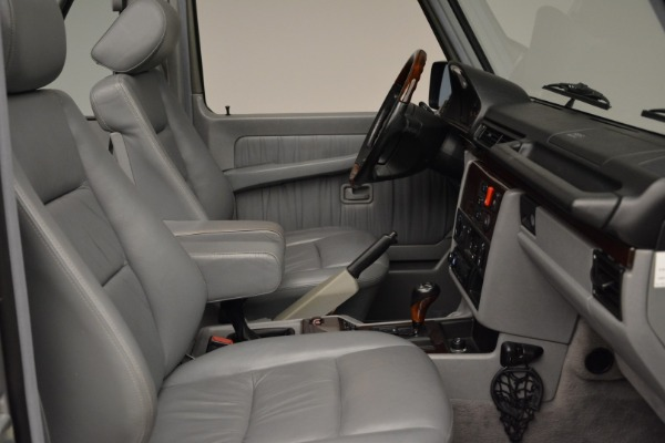 Used 1999 Mercedes Benz G500 Cabriolet for sale Sold at Bugatti of Greenwich in Greenwich CT 06830 27