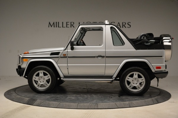 Used 1999 Mercedes Benz G500 Cabriolet for sale Sold at Bugatti of Greenwich in Greenwich CT 06830 3