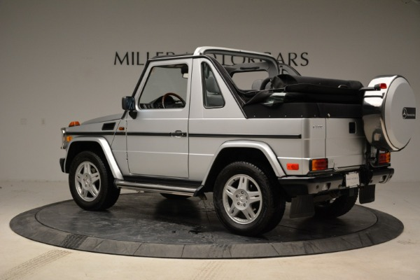 Used 1999 Mercedes Benz G500 Cabriolet for sale Sold at Bugatti of Greenwich in Greenwich CT 06830 4