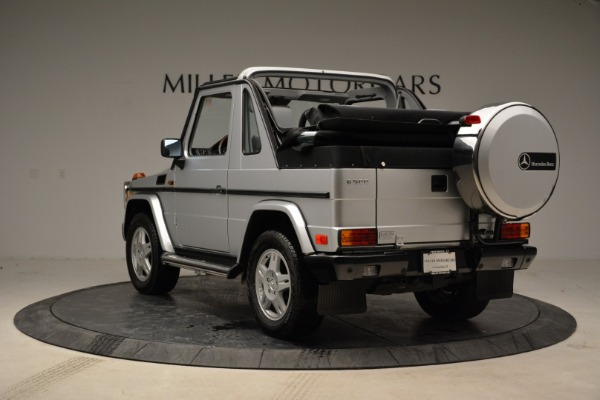 Used 1999 Mercedes Benz G500 Cabriolet for sale Sold at Bugatti of Greenwich in Greenwich CT 06830 5