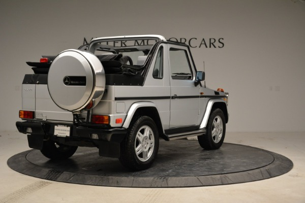 Used 1999 Mercedes Benz G500 Cabriolet for sale Sold at Bugatti of Greenwich in Greenwich CT 06830 7