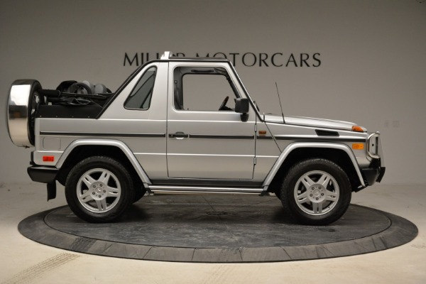 Used 1999 Mercedes Benz G500 Cabriolet for sale Sold at Bugatti of Greenwich in Greenwich CT 06830 9