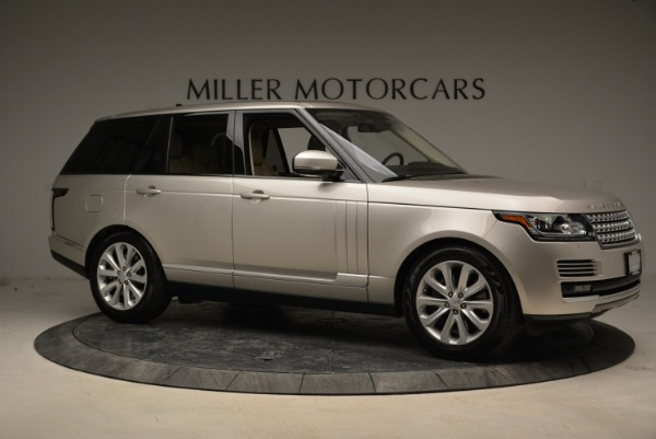 Used 2016 Land Rover Range Rover HSE for sale Sold at Bugatti of Greenwich in Greenwich CT 06830 10