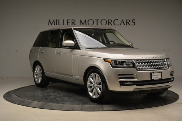 Used 2016 Land Rover Range Rover HSE for sale Sold at Bugatti of Greenwich in Greenwich CT 06830 11