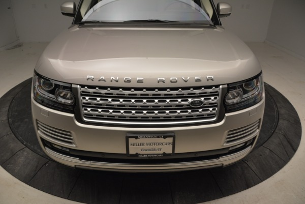 Used 2016 Land Rover Range Rover HSE for sale Sold at Bugatti of Greenwich in Greenwich CT 06830 13