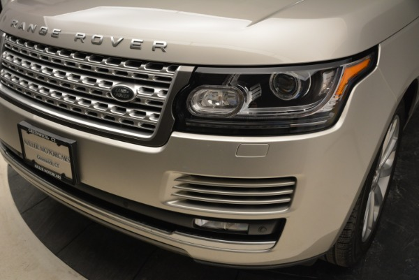 Used 2016 Land Rover Range Rover HSE for sale Sold at Bugatti of Greenwich in Greenwich CT 06830 14