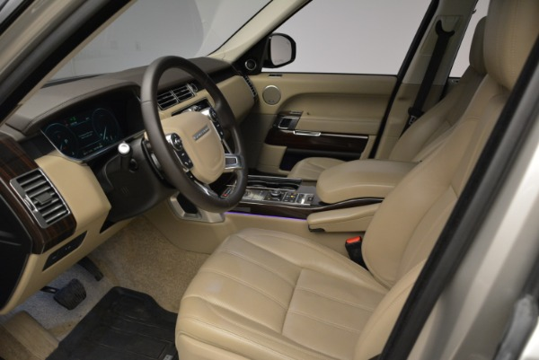 Used 2016 Land Rover Range Rover HSE for sale Sold at Bugatti of Greenwich in Greenwich CT 06830 17