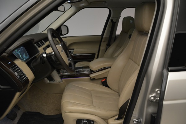 Used 2016 Land Rover Range Rover HSE for sale Sold at Bugatti of Greenwich in Greenwich CT 06830 18