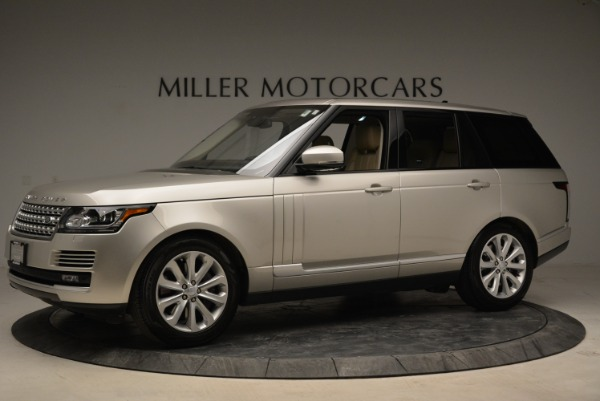 Used 2016 Land Rover Range Rover HSE for sale Sold at Bugatti of Greenwich in Greenwich CT 06830 2